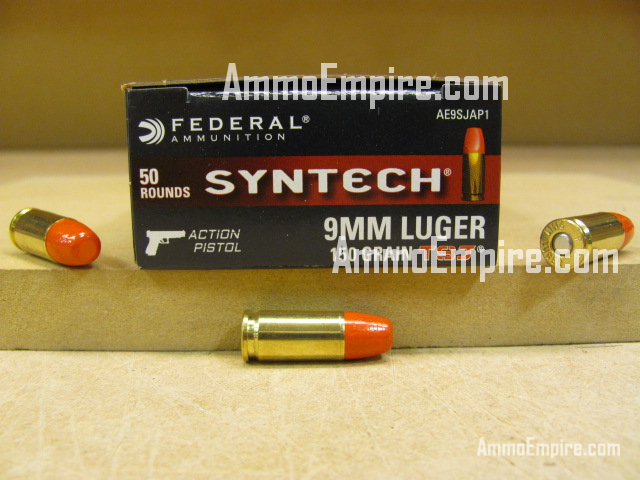 500 Round Case of 9mm Luger Subsonic 150 Grain TSJ Federal