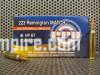 1000 Round Case of 223 Rem Match 75 Grain BTHP Hollow Point Prvi Partizan Ammo - PP54 - Free Shipping