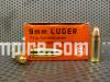 1000 Round Case of 9mm Luger 115 Grain FMJ Brass Case Ammo by Geco Made in Hungary - FREE SHIPPING