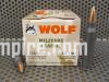500 Round Case of 223 Rem 55 Grain FMJ Wolf PolyFormance or Military Classic Steel Case Ammo made by Barnaul - FREE SHIPPING