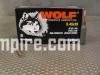 1000 Round Case of 5.45x39 60 Grain FMJ Wolf Steel Case Ammo - Free Shipping